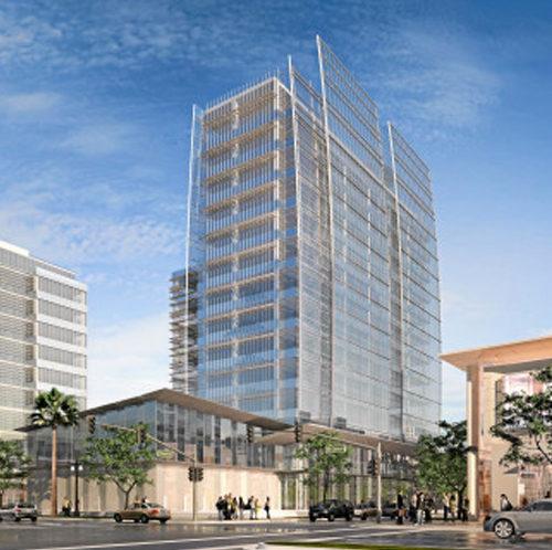 Portfolio Long Beach Civic Center Exterior