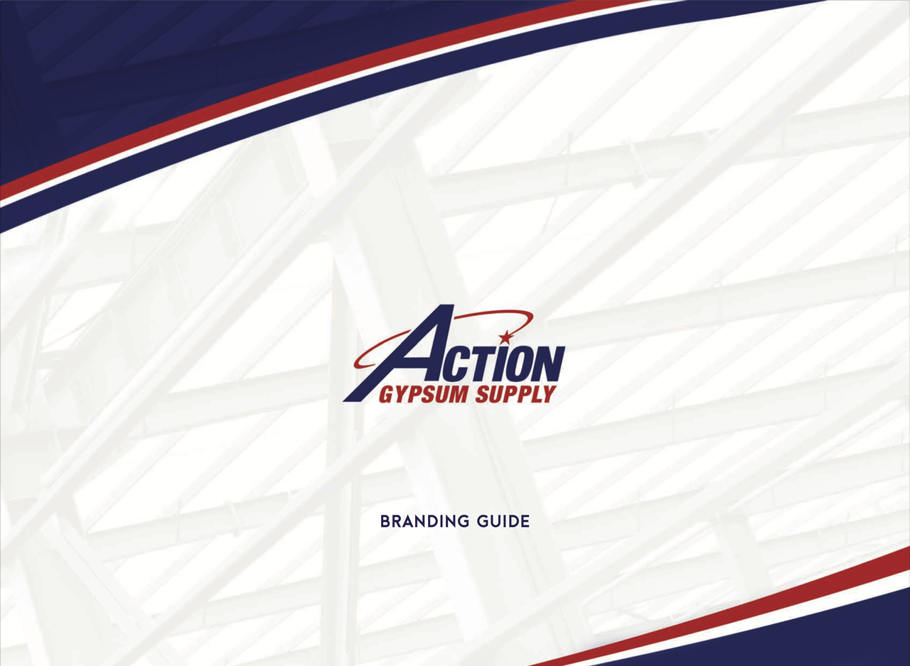 Action Gypsum Branding Guide Cover