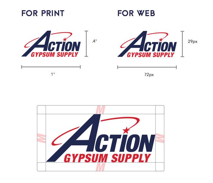 Action Gypsum Logo Restrictions