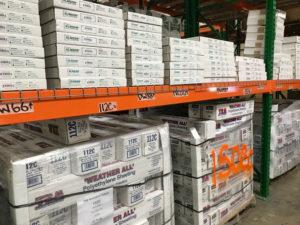 Polyethylene Sheeting Shelves