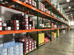 Product Warehouse Shelves