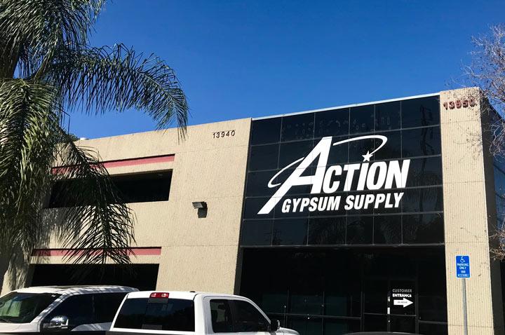 Action Gypsum Chino, CA Location