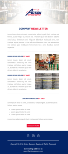 Company Newsletter Email Template