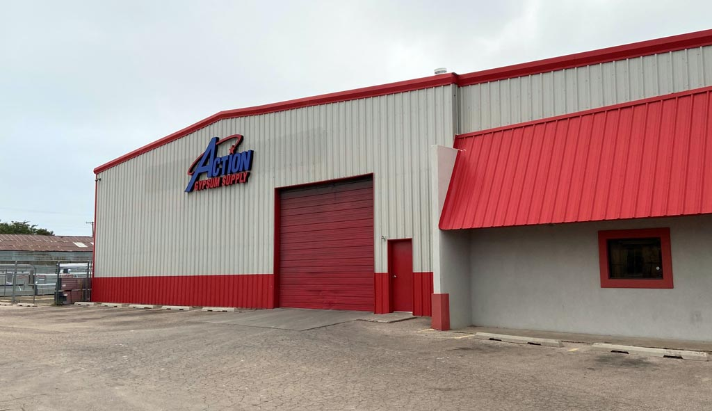 Action Gypsum Supply – Amarillo, TX